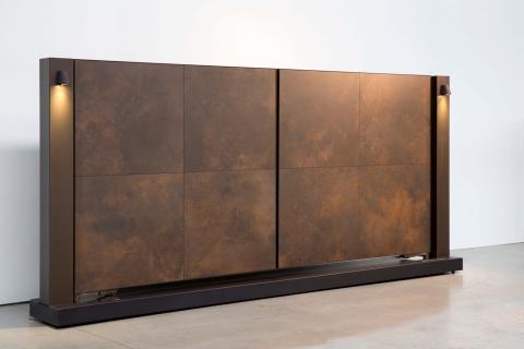 Tore aus aluminium und massivholz: Modell 12